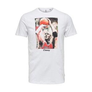 Only & Sons Only & Sons Michael Jordan T-Shirt Blanc