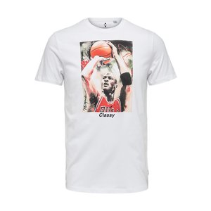 Only & Sons Only & Sons Michael Jordan T-Shirt White