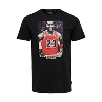 Only & Sons Michael Jordan T-Shirt Zwart