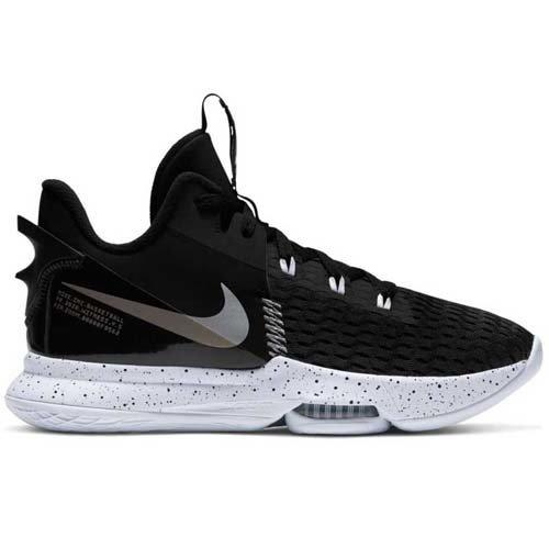 Nike Basketball Nike LeBron Witness 5 Zwart Grijs