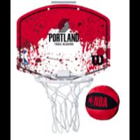 Wilson NBA Team Mini Hoop Portland Trail Blazers