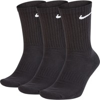 Nike Everyday Cushioned Crew Sokken Zwart (3paar)