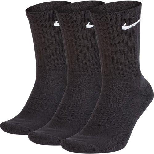 Nike Nike Everyday Cushioned Crew Sokken Zwart (3paar)