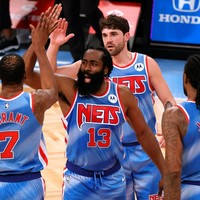 James Harden's debuut bij de Brooklyn Nets