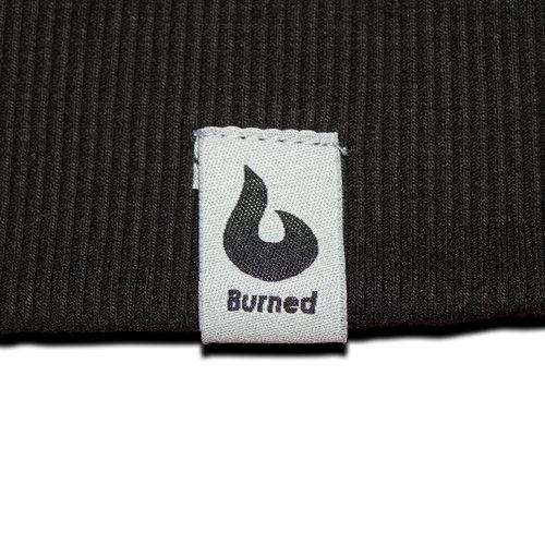 Burned Burned Crewneck Zwart