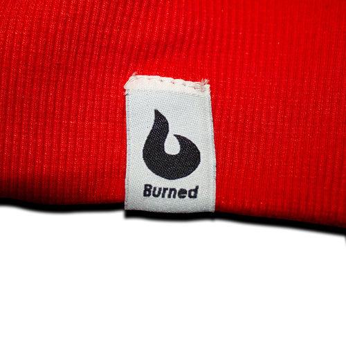 Burned Burned Crewneck Rood