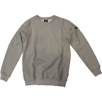 Burned Crewneck Grijs Raglan