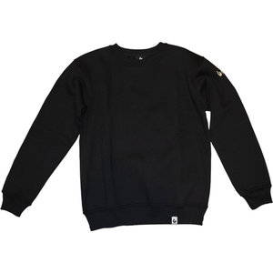 Burned Burned Crewneck Schwarz
