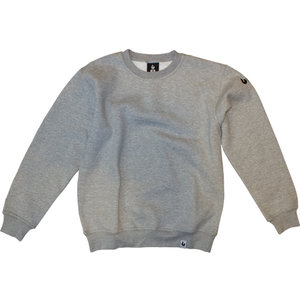 Burned Burned Crewneck Grey