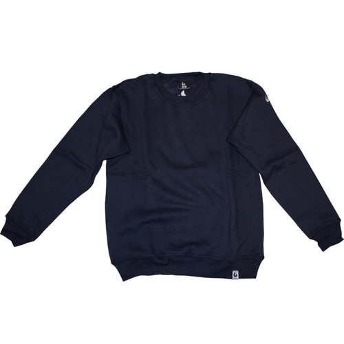 Burned Burned Crewneck Navy