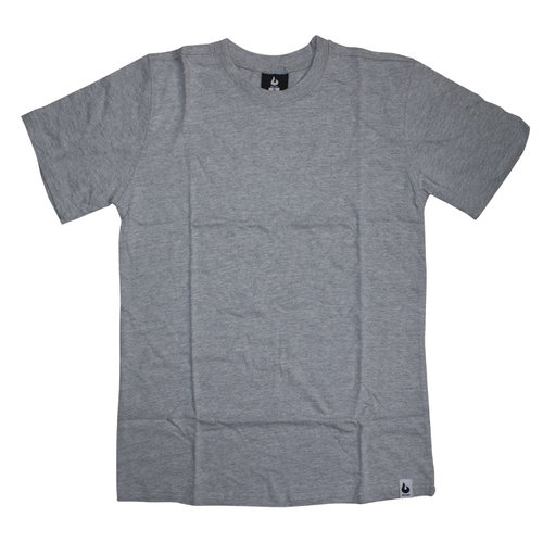 Burned Burned T-shirt Gray