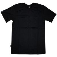 Burned T-shirt Zwart