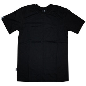 Burned Burned T-Shirt Schwarz