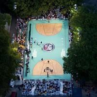 Weer tijd om te basketballen!