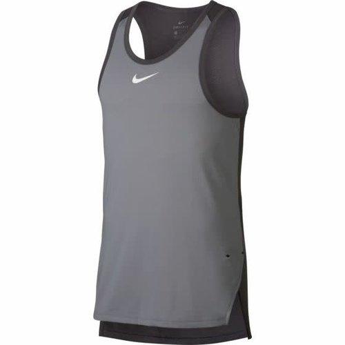 Nike Basketball Nike Elite Breathe Basketball Jersey Grau