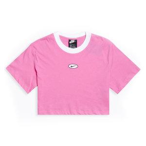 Nike Nike WMNS NSW Cropped Logo Top rosa