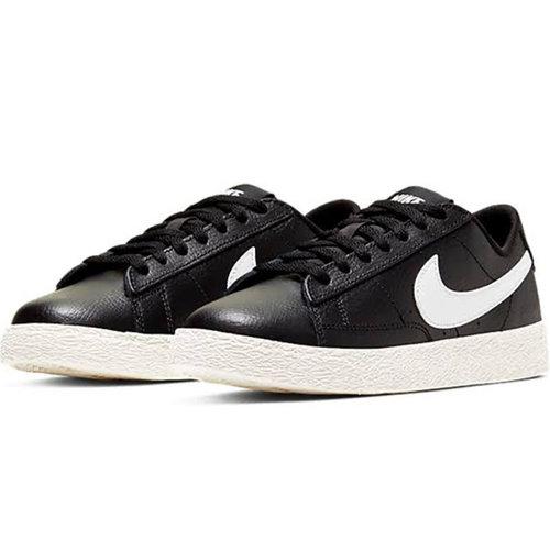 Nike Nike Blazer Low GS Zwart Wit Sail