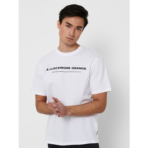 Only & Sons Only & Sons Clockwork Orange T -shirt wit