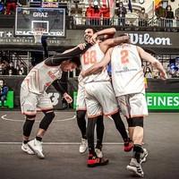 3 X 3 basketballers zetten bijzondere prestatie neer