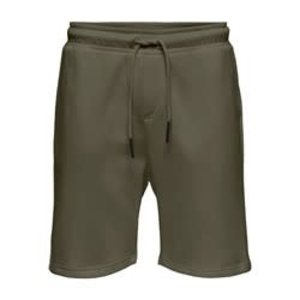 Only & Sons Only & Sons Sweat Short Grün