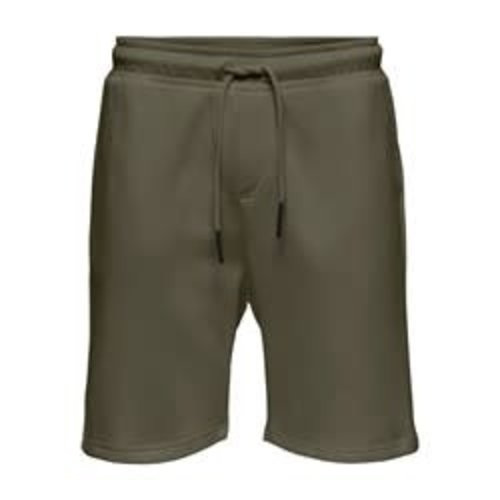 Only & Sons Only & Sons Sweat Short Green