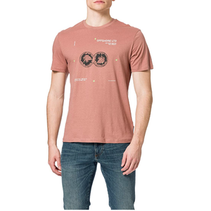 Only & Sons Only & Sons Off Shore LTD T-shirt Pink