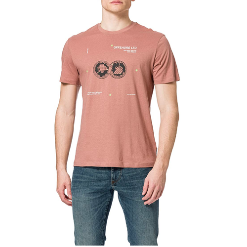 Only & Sons Only & Sons Off Shore LTD T-shirt Roze