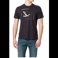 Only & Sons Blue Cargo Off Shore T-shirt Zwart