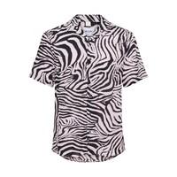 Only & Sons Shirt Zebra Print Creme