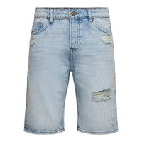 Only And Sons Blue Jeans Shorts