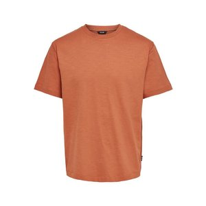 Only & Sons Only & Sons Oversized  T- Shirt Orange