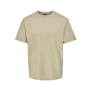 Only & Sons Only & Sons Oversized  T- Shirt Hellbraun