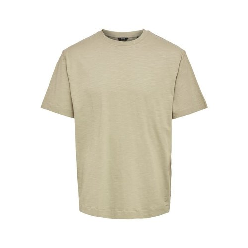 Only & Sons Only & Sons Oversized  T- Shirt Lichtbruin