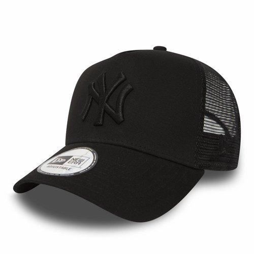 New Era New Era New York Yankees Trucker Cap Zwart