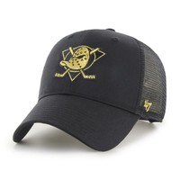 47 Brand Anaheim Ducks Branson Metallic '47 MVP NHL Trucker Cap