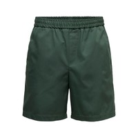 Only & Sons Compact Twill Shorts Green