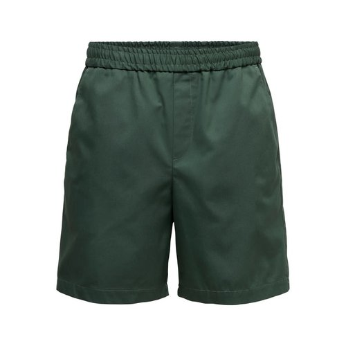 Only & Sons Only & Sons Compact Twill Shorts Groen