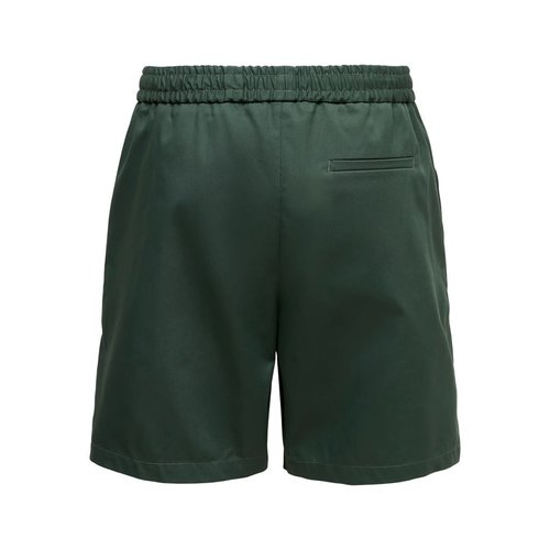 Only & Sons Only & Sons Compact Twill Shorts Green
