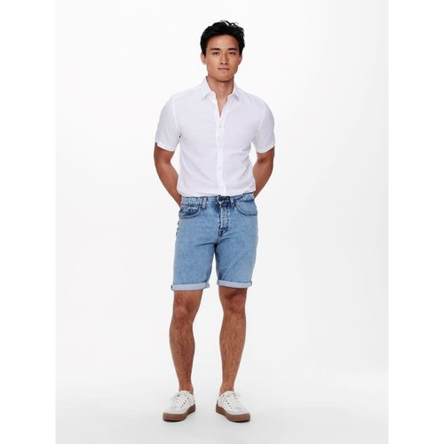 Only & Sons Only & Sons Live Loose Spijker Short Blauw