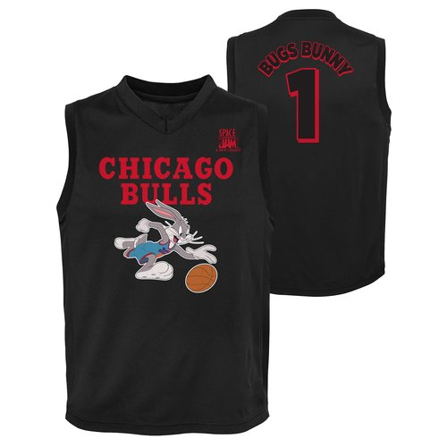 Outerstuff NBA Chicago Bulls Space Jam Jersey Bugs Bunny Kids