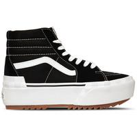 Vans SK8-HI Stacked Zwart Wit
