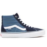 Vans Sk8-Hi Skate Navy Wit