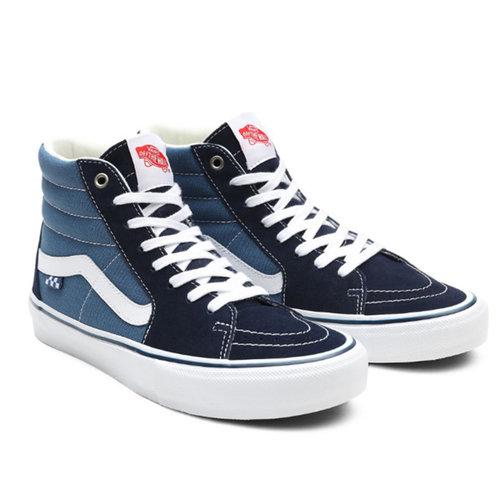 Vans Vans Sk8-Hi Skate Navy Wit