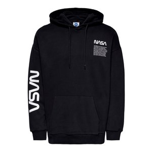 Only & Sons Only & Sons Nasa Life RLX Hoodie Zwart