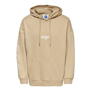 Only & Sons Only & Sons Nasa Life RLX Hoodie Beige