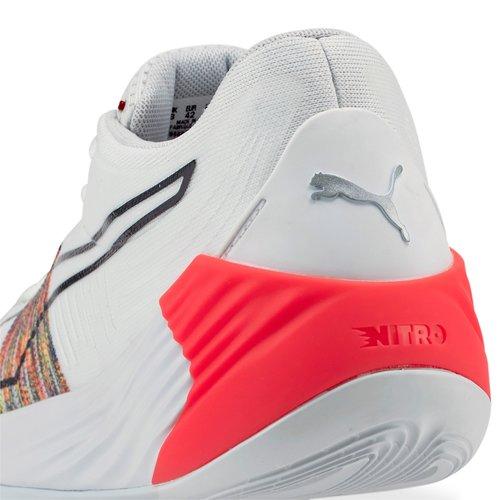 Puma Basketball Puma Nitro Spectra Weiß Mehrfarbig