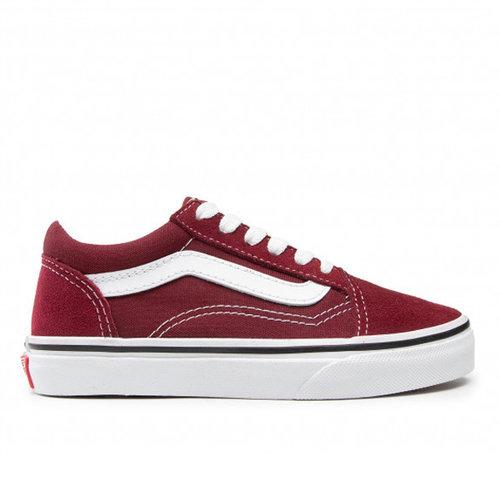 Vans Vans Old Skool Pomegranate White (GS)