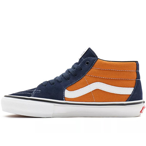 Vans Pro Vans Skate Grosso Mid Navy Oranje
