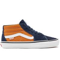 Vans Skate Grosso Mid Navy Oranje