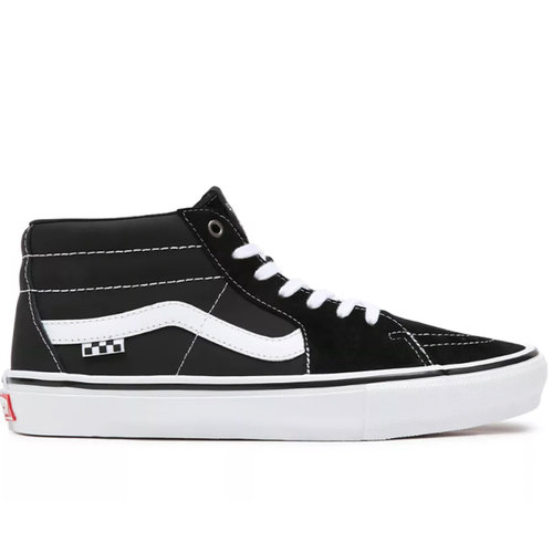 Vans Pro Vans Skate Grosso Mid Zwart Wit